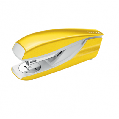 Zszywacz średni metalowy Leitz New NeXXt Series żółty kod: 55021016