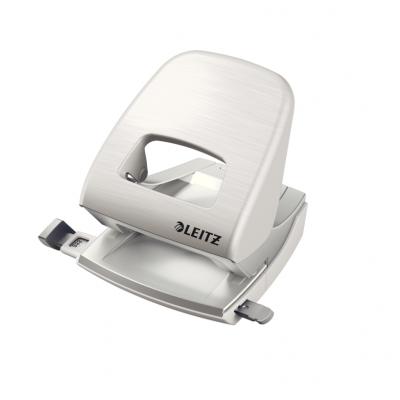 Dziurkacz duży metalowy Leitz Style, biały, 30 kartek kod: 50060004