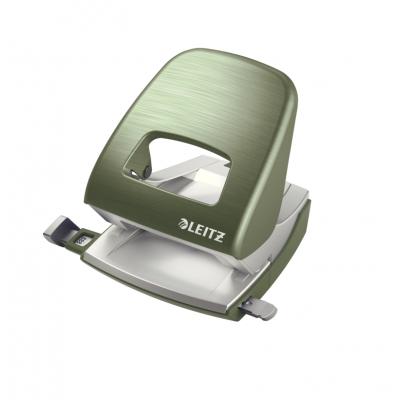 Dziurkacz duży metalowy Leitz Style, seledynowy, 30 kartek kod: 50060053