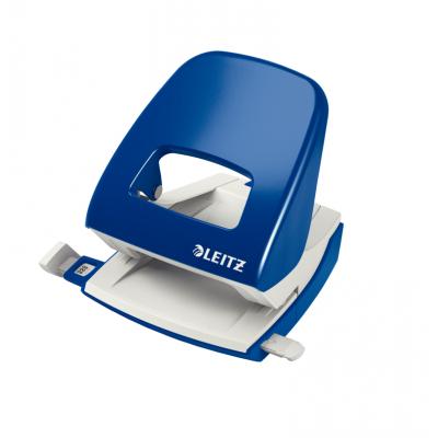 Dziurkacz duży metalowy Leitz, niebieski, 30 kartek kod: 50080035