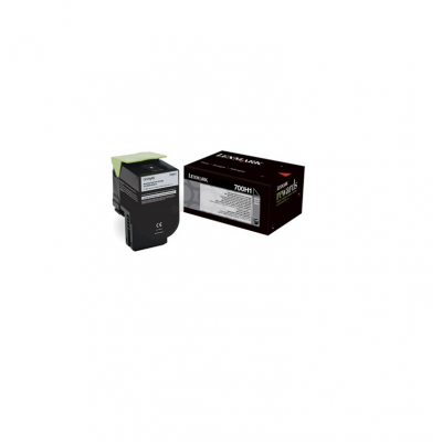 Toner Lexmark Black 70C0H10