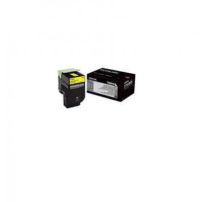 Toner Lexmark Yellow 70C0H40