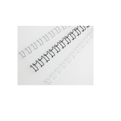 Grzbiety drutowe 8mm srebrne 2 : 1 kod: IB160639