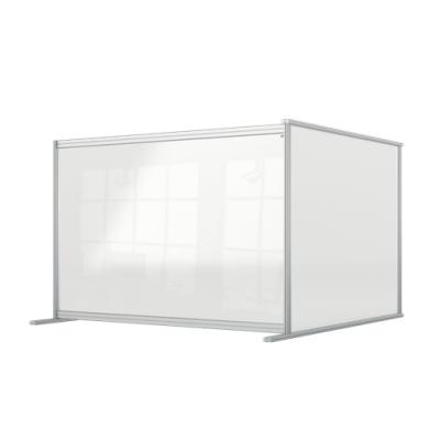 Przedłużająca przegroda na biurko Premium Plus wykonana z Plexi 1400x1000mm kod: 1915495