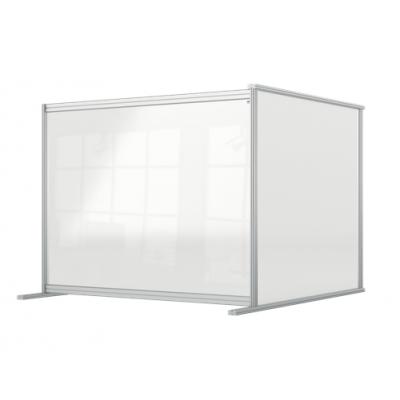 Przedłużająca przegroda na biurko Premium Plus wykonana z Plexi 1200x1000mm kod: 1915496