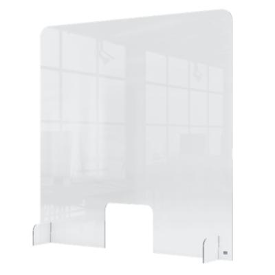 Przegroda na ladę/recepcję wykonana z Plexi 700 x 850 mm kod: 1915489