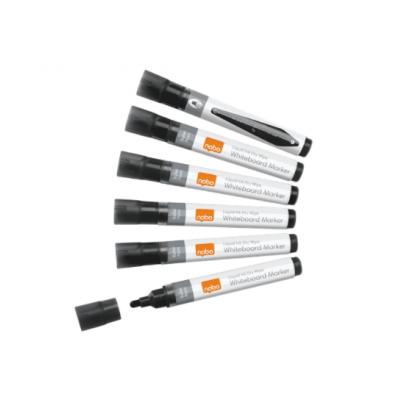 Markery suchościeralne Nobo Liquid Ink, czarne, kod: 1901073