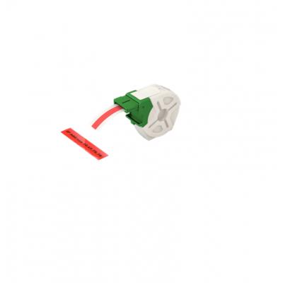 Kaseta z samoprzylepną, plastikową taśmą do drukowania etykiet Leitz Icon, szer. 12 mm, czerwona kod: 70150025