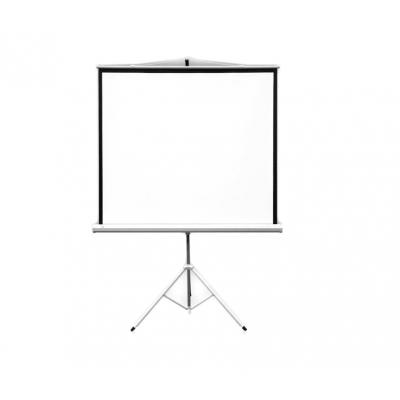Ekran na trójnogu 124 x 124 cm firmy 2x3 Pop Mobile (ETPR1212R)