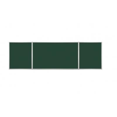 Tablica suchościeralna kredowa tryptyk ( ceramiczna ) kod: TRK1218P3