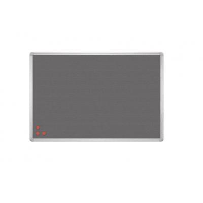 Tablica 2x3 PinMag srebrna rama 60 × 45 cm kod: TPA456