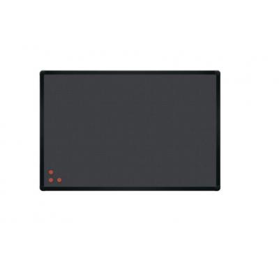 Tablica 2x3 PinMag rama czarna 90 × 60 cm kod: TPAB96