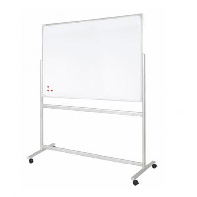 Tablica 2x3 dwustronna, mobilna, ceramiczna, magnetyczna, suchościeralna 120 x 90 cm kod: TDS129P3