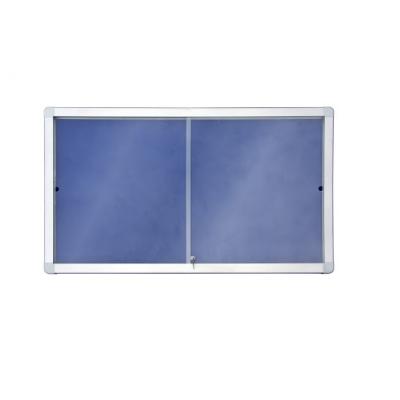 Gablota 2x3 tekstylna z przesuwanymi drzwiami kod: GT118A4PD