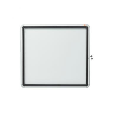 Gablota oszklona zewnętrzna magnetyczna Nobo, 6xA4, biała kod: 1902578