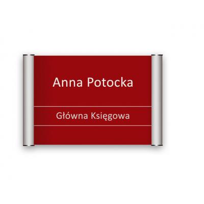 Tabliczka informacyjna drzwiowa TZWA6